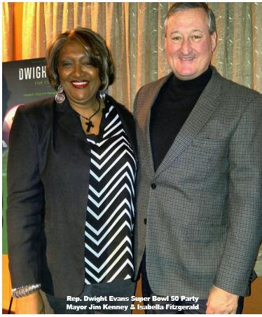 Izzy with Mayor Kenney